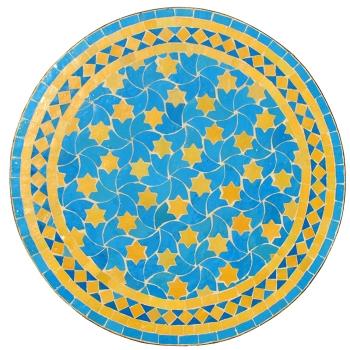 Marokkanischer Mosaiktisch RAFRAF D60cm