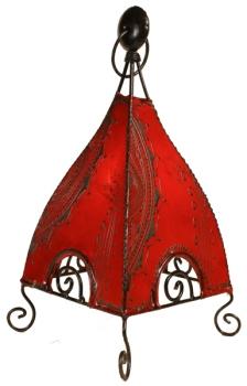 Lederlampe Manar2 H50cm