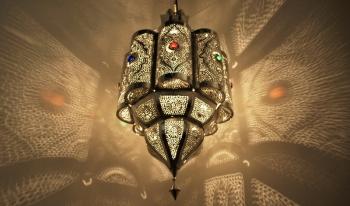 Orientalische Deckenleuchte