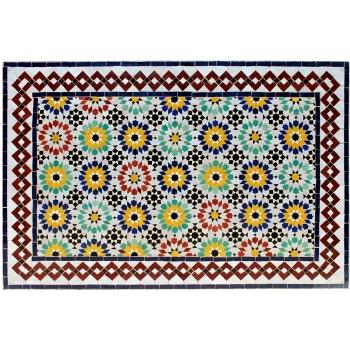 Gartentisch aus Marokko (120x80)cm Ankabut