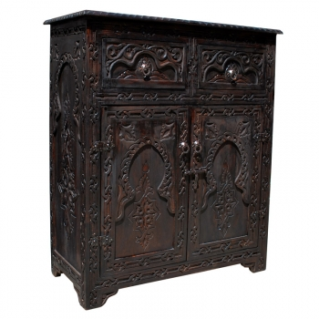 Orientalischer Holzschrank  Madani