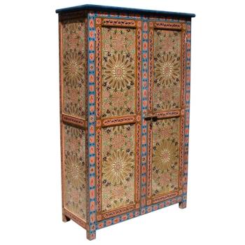 Orientalischer Holzschrank