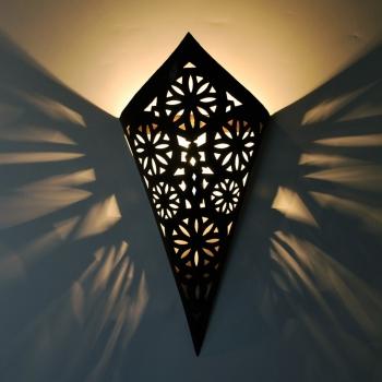 Eisen- Wandlampe Richa