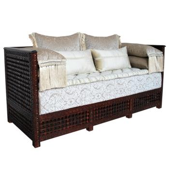 Orientalische Couch Moscharabi_Natur