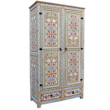 Orientalischer Holzschrank  Labyad