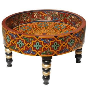 Orient Teetisch aus Zedern Holz Jafna.