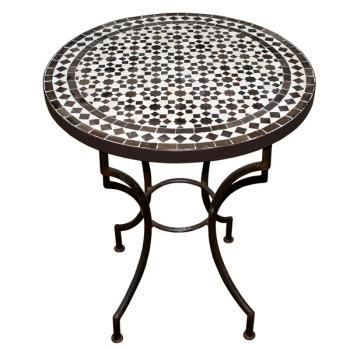 Mosaiktisch aus Marokko Tarsia D60cm