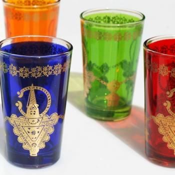 Orientalische Teegläser Besma 6 Stück