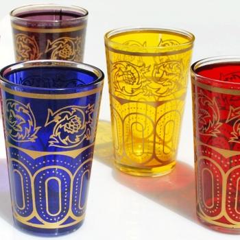 Marokkanische Teegläser Saha 6 Stück