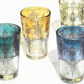 Marokkanische Teegläser Zina 6 Stück