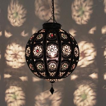 Orientalische Deckenleuchte Kora_Kazdir braun