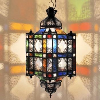 Orientalische Lampe Moulaoulidat-Raba-XL L85cm