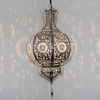 Orientalische Lampen YAMINA Silber